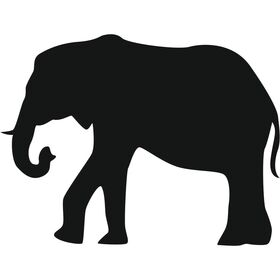 Appliqué en flex thermocollant Elephant