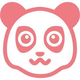Appliqué en flex thermocollant bébé Panda