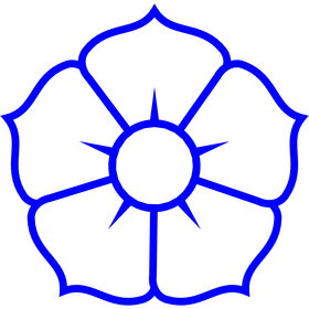 Appliqué en flex thermocollant Fleur