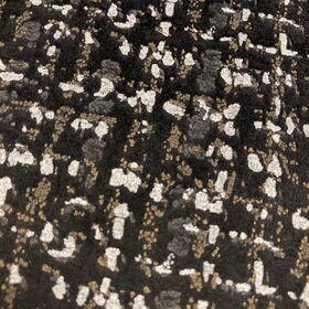 Coton anis à pois blanc